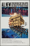 """Movie Posters:Science Fiction, Conquest of the Planet of the Apes (20th Century Fox, 1972). One Sheet (27"""" X 41"""") Style B. Science Fiction.. ..."""