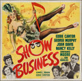 """Movie Posters:Musical, Show Business (RKO, 1944). Six Sheet (79"""" X 80""""). Musical.. ..."""