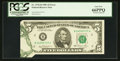 Error Notes:Foldovers, Fr. 1976-B $5 1981 Federal Reserve Note. PCGS Gem New 66PPQ.. ...
