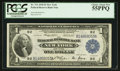 Fr. 711 $1 1918 Federal Reserve Bank Note PCGS Choice About New 55PPQ