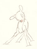 Animation Art:Production Drawing, Bambi Production Drawing Group (Walt Disney, 1942)....(Total: 14 Original Art)
