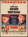 "Movie Posters:Western, El Dorado (Paramount, 1966). Trimmed Window Card (14"" X 18.25"").Western.. ..."