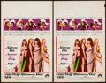 """Movie Posters:Sexploitation, Anyone Can Play & Others Lot (Paramount, 1968). Window Cards(8) (14"""" X 22"""") & Trimmed Window Card (14"""" X 16"""").Sexploitatio... (Total: 9 Items)"""