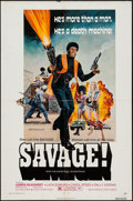 "Movie Posters:Blaxploitation, Savage! & Other Lot (New World, 1973). One Sheets (2) (27"" X41""). Blaxploitation.. ... (Total: 2 Items)"