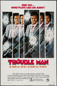 "Trouble Man & Other Lot (20th Century Fox, 1972). One Sheets (2) (27"" X 41""). Blaxploitation. ... (Tot..."