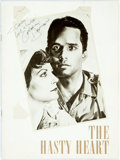 Autographs:Celebrities, Gregory Harrison (b. 1950, American actor) Theatre Program Signed. Program is for The Hasty Heart, in which Harrison sta...