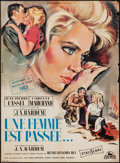 """Movie Posters:Foreign, Nothing Ever Happens (Cocinor, 1963). French Affiche (23.5"""" X 31.5""""). Foreign.. ..."""