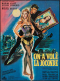 """Movie Posters:Foreign, The Mona Lisa Has Been Stolen (Concinor, 1966). French Affiche (22.5"""" X 30.5""""). Foreign.. ..."""