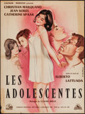 """Movie Posters:Foreign, Sweet Deceptions (Conicor, 1961). French Affiche (23.5"""" X 31.5""""). Foreign.. ..."""