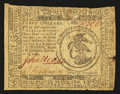 Colonial Notes:Continental Congress Issues, Continental Currency November 29, 1775 $3 Fine.. ...