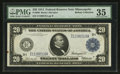 Fr. 996 $20 1914 Federal Reserve Note PMG Choice Very Fine 35