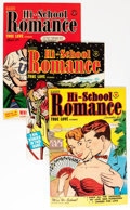 Golden Age (1938-1955):Romance, Hi-School Romance #6-75 Near Complete Range File Copy Group(Harvey, 1950-58) Condition: Average VF.... (Total: 69 Comic Books)