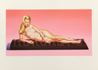 MEL RAMOS (American, b. 1935) Sweet Odalisque, 1996 Color lithograph 22-3/8 x 31-1/8 inches (56.8