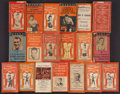 """Boxing Collectibles:Memorabilia, 1919-34 """"Tom Andrew's World Sporting Guides"""" Lot of 19...."""