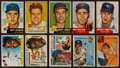 Baseball Cards:Lots, 1952 - 1956 Topps Baseball Collection (147) With Stars, HoFers and High Numbers. ...