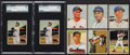 Baseball Cards:Lots, 1950 - 1954 Bowman Baseball Collection (242) With 2 Ted Williams....