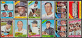 Baseball Cards:Sets, 1965 & 1966 Topps Baseball Near Set Pair (2). ...
