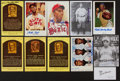 Autographs:Post Cards, Negro League Legends Signed Postcards Lot Of 11 (10 Signed)....