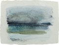 Works on Paper, ANDREA ROSENBERG (American, 20th Century). Placid Waters, 1997. Watercolor and gouache on paper. 9-1/4 x 12-1/2 inches (...