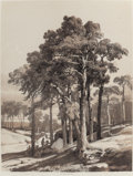 Fine Art - Work on Paper:Print, ALEXANDRE CALAME (Swiss, 1810-1864). Les Ombrages (ShadedAreas) (pair). Tint stone lithographs. 15-3/4 x 12 inches(40.... (Total: 2 Items)