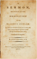 Books:Religion & Theology, John Gemmill. A SERMON, DELIVERED AT THE ORDINATION OF THE REV. JOHN N. ABEEL, A.M. AS A COLLEGIATE MINISTER... ...