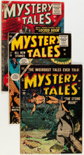 Golden Age (1938-1955):Horror, Mystery Tales Group (Atlas, 1954-56).... (Total: 4 Comic Books)