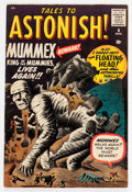 Silver Age (1956-1969):Mystery, Tales to Astonish #8 (Marvel, 1960) Condition: VG+....