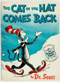 Books:Children's Books, Dr. Seuss. The Cat in the Hat Comes Back. New York: RandomHouse, [1958]. First edition. Octavo. Pictorial paper-cov...