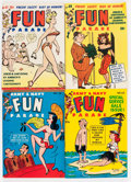Magazines:Humor, Army and Navy Fun Parade File Copy Long Box Group (Fun Parade,1950s) Condition: Average FN....