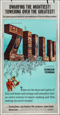 "Movie Posters:War, Zulu (Embassy, 1964). Three Sheet (41"" X 79""). War.. ..."