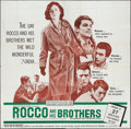 """Movie Posters:Foreign, Rocco and His Brothers (Titanus-Les Films Marceau, 1960). Six Sheet(79"""" X 79""""). Foreign.. ..."""