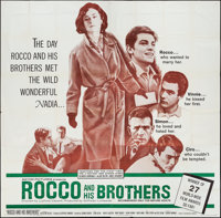 "Rocco and His Brothers (Titanus-Les Films Marceau, 1960). Six Sheet (79"" X 79""). Foreign"