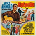 "Movie Posters:Musical, Hoedown (Columbia, 1950). Six Sheet (79"" X 80""). Musical.. ..."