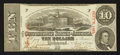 Confederate Notes:1863 Issues, T59 $10 1863 PF-19 Cr. 442.. ...