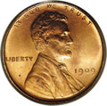 Proof Lincoln Cents: , 1909 1C PR65 Red PCGS. A Gem proof example of the new Lincolndesign with fully defined obverse and reverse details. The ma...