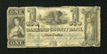 Obsoletes By State:Michigan, Pontiac, MI- Oakland County Bank $1 Oct. 10, 1843 . ...