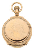 Timepieces:Pocket (post 1900), Elgin Gold Filled 18 Size Hunter's Case Pocket Watch. ...