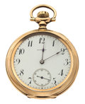 Timepieces:Pocket (post 1900), Private Label E.E. Esterly 17 Jewel Pocket Watch. ...