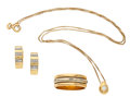 Art Glass:Daum, Diamond, Gold, Jewelry Suite. ...