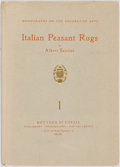 Books:Art & Architecture, Albert Sautier. Italian Peasant Rugs. No. 1 in the Monographs on the Decorative Arts. Milan: Piantanisa-Valcarenghi,...