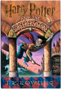 Books:Science Fiction & Fantasy, J.K. Rowling. SIGNED. Harry Potter and the Sorcerer's Stone.[New York]: Arthur A. Levine Books, [1998]. Later print...