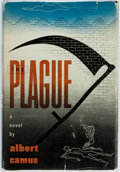 Books:Literature 1900-up, Albert Camus. The Plague. New York: Knopf, 1948. FirstAmerican edition. Publisher's cloth and original dust jacket....