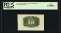 Fractional Currency:Second Issue, Fr. 1244SP 10¢ Second Issue Wide Margin Back PCGS Gem New 65PPQ.. ...