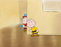 Animation Art:Production Cel, Someday You'll Find Her, Charlie Brown Charlie and LinusProduction Cel (Bill Melendez, 1981)....