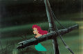 Animation Art:Production Cel, The Little Mermaid Production Cel Setup (Walt Disney, 1989).... (Total: 2 Items)