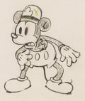 Animation Art:Production Drawing, Dognappers Mickey Mouse Animation Art Production Drawing(Walt Disney, 1934)....