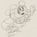 Animation Art:Production Drawing, Puppy Love Mickey And Minnie Mouse Production DrawingAnimation Art (Walt Disney, 1933)....