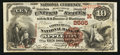 National Bank Notes:Wisconsin, Appleton, WI - $10 1882 Brown Back Fr. 490 The Commercial NB Ch. # (M) 2565. ...