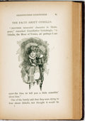 Books:Literature Pre-1900, R.W. Criswell. Grandfather Lickshingle. New York: JohnLovell, [1883]. First edition. Publisher's purple cloth. Spin...