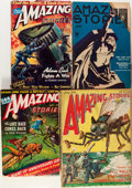 Pulps:Science Fiction, Amazing Stories Group (Ziff-Davis, 1926-48) Condition: AverageGD.... (Total: 8 Items)